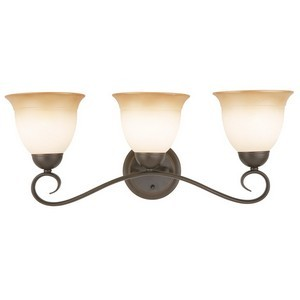 Design House 512665 Cameron 3-Light Vanity Light, Oil Rubbed Bronze