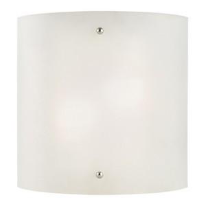 Design House 512905 Weston 2-Light Half-Cylinder Wall Sconce, Satin Nickel