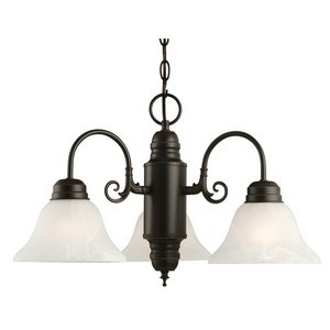 Design House 514463 Millbridge 3-Light Chandelier, Oil Rubbed Bronze