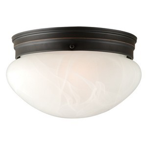 Design House 514539 Millbridge 2-Light 9-1/2in Ceiling Mount, Oil Rubbed Bronze