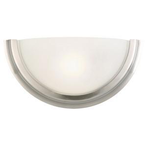 Design House 514562 Fairfax 1-Light Wall Sconce, Satin Nickel