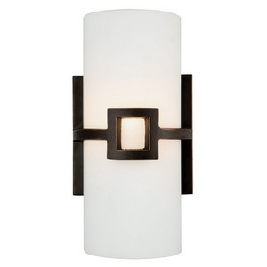 Design House 514604 Monroe 2-Light Wall Sconce, Oil Rubbed Bronze