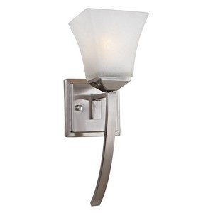 Design House 514786 Torino 1-Light Extended Wall Sconce, Satin Nickel