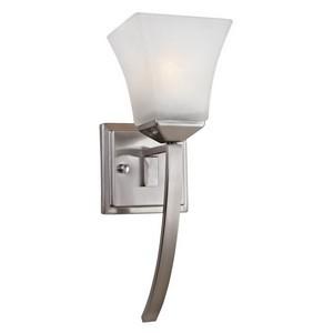 Design House 514786 Torino 1-Light Extended Wall Sconce, Satin Nickel