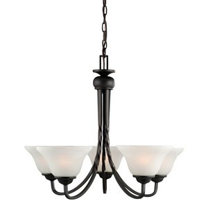 Design House 514885 Drake 5-Light Chandelier, Oil Rubbed Bronze