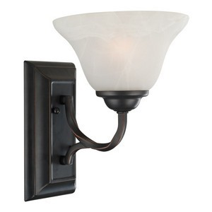 Design House 514927 Drake 1-Light Wall Sconce, Oil Rubbed Bronze