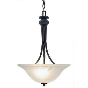 Design House 514950 Drake 2-Light Pendant, Oil Rubbed Bronze