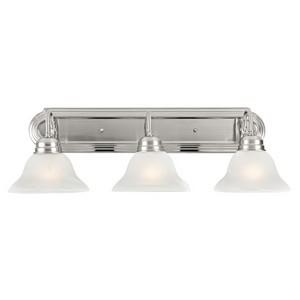 Design House 517383 Millbridge 3-Light Vanity Light, Satin Nickel