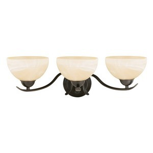 Design House 517466 Trevie 3-Light Vanity Light, Oil Rubbed Bronze