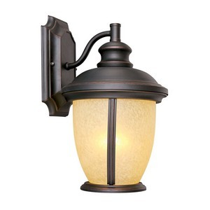 Design House 517599 Bristol Outdoor Downlight, 8 X 13-1/2, Oil Rubbed Bronze