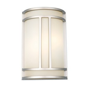 Design House 517706 Easton 2-Light Wall Sconce, Satin Nickel