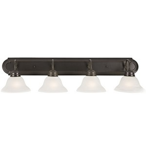 Design House 517714 Millbridge 4-Light Vanity Light, Oil Rubbed Bronze