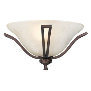 Design House 517722 Ironwood 1-Light Half-Circle Wall Sconce, Brushed Bronze