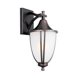 Design House 517797 Ironwood Outdoor Downlight, 8-3/8 X 14-3/4, Brushed Bronze