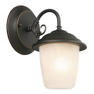 Design House 519488 Millbridge Outdoor Downlight, 5-1/2 X 7-1/2, Oil Rubbed Bronze