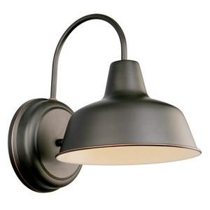 Design House 519504 Mason Outdoor Downlight, 8-3/8 X 11, Oil Rubbed Bronze