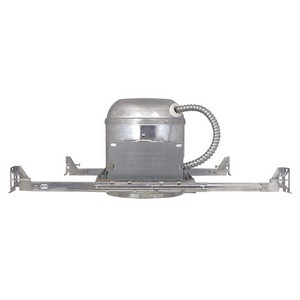 Design House 519512 6in Recessed Lighting Housing for New Construction, Galvanized Steel
