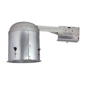 Design House 519520 6in Recessed Lighting Housing for Remodel, Galvanized Steel