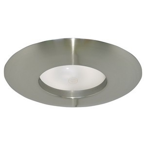 Design House 519546 6in Recessed Lighting Wide Ring Trim, Satin Nickel