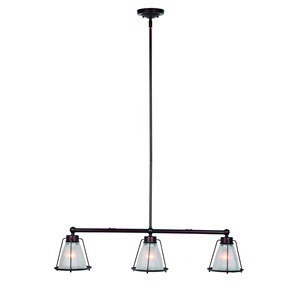 Design House 519793 Essex 3LT Island Light Bronze