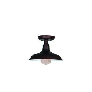 Design House 519884 Kimball 1LT Semi Flush Ceiling Mount Bronze