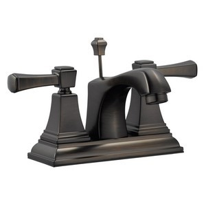 Design House 522003 Torino 4in Lavatory Faucet, Brushed Bronze