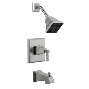 Design House 522029 Torino Tub & Shower Faucet, Satin Nickel