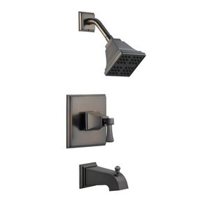 Design House 522037 Torino Tub & Shower Faucet, Brushed Bronze