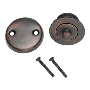 Design House 522359 Lift & Turn Bath Drain Kit in a Brushed Bronze