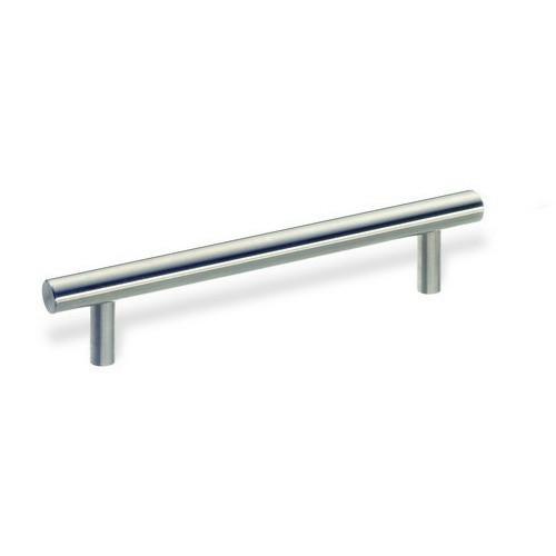 "Schwinn Hardware 52248 European Railing Bar Pull 12-5/8"" (320mm) Centers, Steel, 14-3/16"" (361mm) Long, ADA"