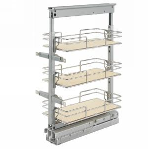 Rev-A-Shelf 5225-09-MP - Short Pullout Maple Pantry 8-7/8 W