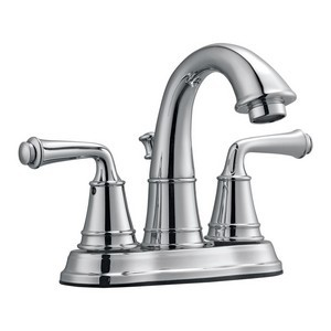 Design House 524512 Eden 4in Lavatory Faucet, Polished Chrome