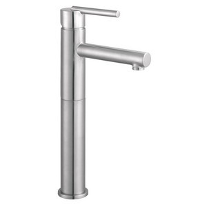 Design House 525576 Geneva Vessel Lavatory Faucet, Satin Nickel