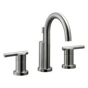 Design House 525733 Geneva Wide Spread Lavatory Faucet, Satin Nickel