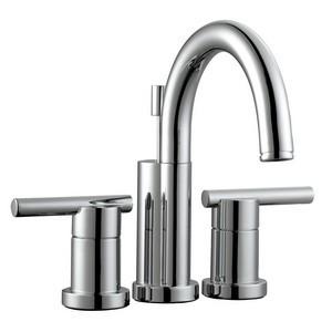 Design House 525766 Geneva 4in Lavatory Faucet, Polished Chrome