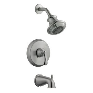 Design House 525782 Madison Tub & Shower Faucet, Satin Nickel