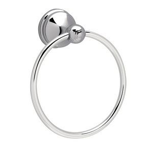 Design House 532895 Allante Towel Ring, Polished Chrome