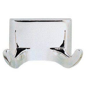 Design House 533059 Millbridge Double Robe Hook, Polished Chrome
