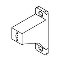Bainbridge 3613WH-22, 1/4 Drawer Slide Spacer, White