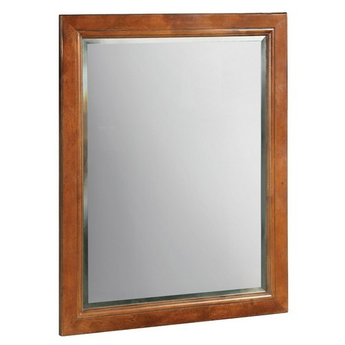 Design House 539577 Montclair Chestnut Glaze Wall Mirror with Solid Maple Frames, 24 X 30