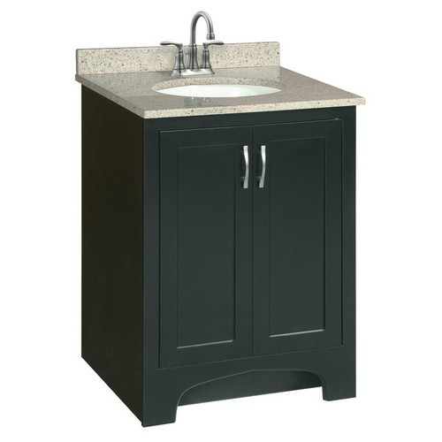 Design House 541235 Ventura Espresso Vanity Cabinet with 2-Doors, 24 X 33-1/2
