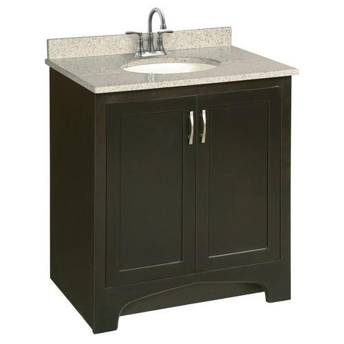 Design House 541250 Ventura Espresso Vanity Cabinet with 2-Doors, 30 X 21