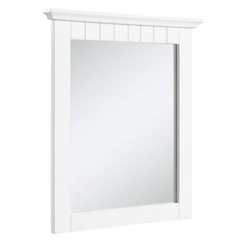 Design House 541581 Cottage White Mirror, 21 X 24