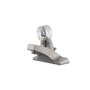 Design House 545962 Millbridge 4in Lav Faucet Satin Nickel