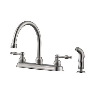 Design House 546119 Saratoga Kitchen Faucet Satin Nickel