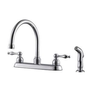 Design House 546135 Saratoga Kitchen Faucet Polished Chrome