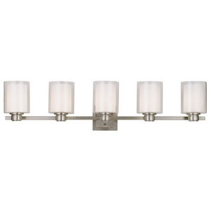 Design House 556175 Oslo 5LT Wall Mount Satin Nickel