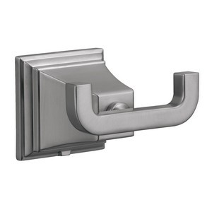 Design House 560433 Torino Double Robe Hook, Satin Nickel