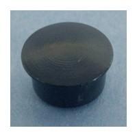 Bainbridge 3015BK-32, 10mm Bore, Plastic Cover Cap for Shelf Hole, Black, 100-Pack