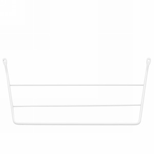 Rev-A-Shelf 563-32 - Door Mount Towel Holder, White